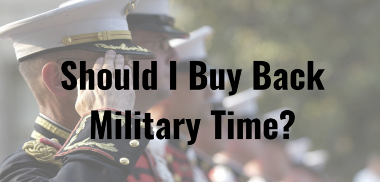 Should I Buy Back Military Time?